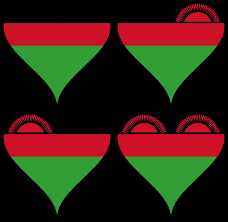 Herzen von Malawi als Symbol für das Impressum